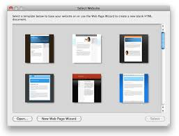 WebDesign: Download the Mac HTML Editor | WebDesign for Mac OS X