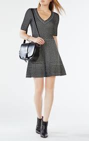 Bcbg Size Chart Bettina Knit Jacquard Dress Bcbg Bcbg