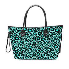 Designer Weekend Bags Womens Us 1099 0 Wholesale Turquoise Leopard Handbag Women Bags Designer Fashion Ladies Weekender Overnight Bag Casual Womens Tote Purse 2019 In