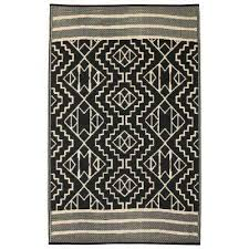 kilimanjaro indoor outdoor black 5 ft x 8 ft area rug kilimanjaro