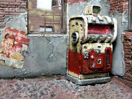 Nuka Cola Vending Machine Inspiration Cola Fallout Machine Nuka Terrain Vending Painted Nuka Cola