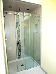 how to install a sliding shower door precious sliding shower glass door skyline series sliding sliding how to install a sliding shower door