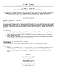 Sample Career Objectives In Resume For Teachers New Formidable ...