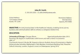 Example Of Best Customer Service Resume Resume Objective Examples Career Objectives For All