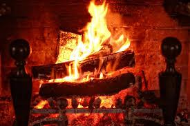 no smoke fireplace fire