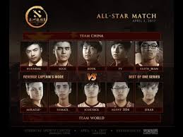 team world vs team china all star dac 2017 dota 2 by time 2 dota
