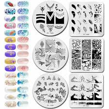 <b>PICT YOU Nail</b> Art Stamping Plates Image Stamp Stencils ...