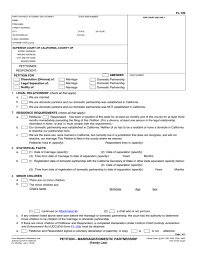 Domestic Partnership Agreement Magnificent Form Fl48 Erkaljonathandedecker