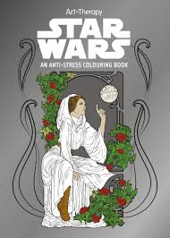 Small Picture Star Wars Art Therapy Colouring Book Lucasfilm Ltd 9781405279918