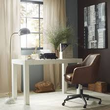 lovers of clean lines and all things white youve met your match weve even shown you how to style it here best desks for home office