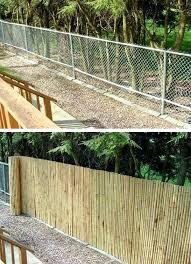 chain link fence cover plusbellelarueorg