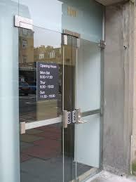 frameless glass door locks handles