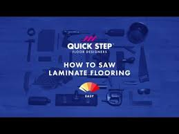 How To Saw Or Cut Laminate Flooring | Tutorial By Quick Step