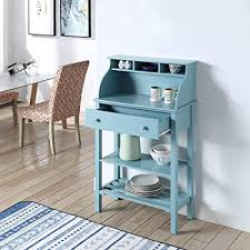 Image Style Murphy Dining Image Unavailable Amazoncom Amazoncom Convenience Concepts 203003sf Designs2go Office Kitchen