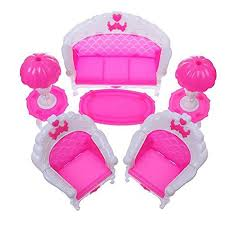 plastic dollhouse furniture sets. LeadingStar 6Pcs Pack Dollhouse Furniture Living Room Sofa Chair Set Plastic For Doll Acessorios House Sets S