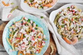 Seafood Pasta Salad Recipe - w/ Crab ...