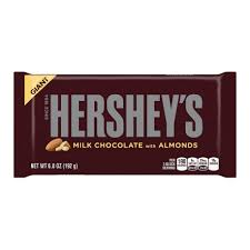 hershey almond candy bars. Contemporary Almond Hersheyu0027s Milk Chocolate Whole Almond Giant Bar 198g And Hershey Almond Candy Bars H