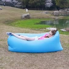 inflatable outdoor furniture. Beach Portable Outdoor Furniture Air Bed Inflatable Hammock Sleeping Bag Camping Sofa Nylon Polyester Lazy Environmental