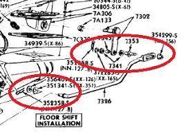 c4 auto transmission shifter linkage insulator & bushing kit, ne c4 neutral safety switch adjustment at C4 Transmission Wiring Diagram