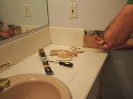 installing bathroom vanity. full image for thissortaoldlife master bathroom tile removal installing a vanity and countertop