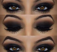 this look is the dark smokey eye i try these colours for my everyday look let me tell you it works brings your beautiful eyes to the point that