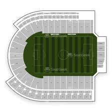 Nippert Stadium Seating Chart With Rows Nippert Stadium Seating Chart Map Seatgeek