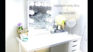 Bedroom Set With Vanity Impressions Vanity Mirror Table Desk Corner ...