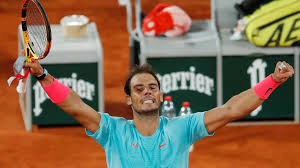 These images first appeared on tennis spree. Raphael Nadal Beats Sinner To Reach 13th French Open Semifinal In Midnight Showdown