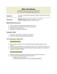 Resumes For High Schoolers Fascinating Resume Templates For Highschool Graduates Fresh High School Student