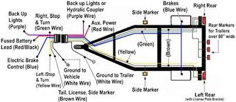 solved 4 wire trailer wiring diagram fixya 5 wire trailer wiring at 4 Wire Trailer Wiring