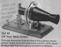 Image result for Bell had received a comprehensive telephone patent just three days before.