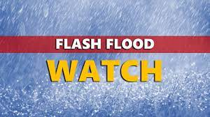 Flash Flood Watch and a Warning ...