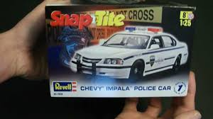 100 - Revell Chevy Impala Police Car Review - YouTube