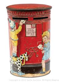 unusual money boxes. Perfect Unusual 1930s Tinplate Money Box Post Biscuit Tin  And Unusual Boxes