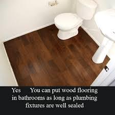 Delightful Laminate Flooring In The Bathroom Inside Bathroom Is It Okay To  Put Laminate Wood Floors In A Bathroom Yahoo