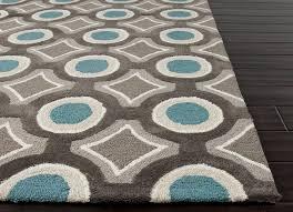 image of nice geometric area rugs contemporary