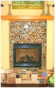 mosaic tile fireplace surround glass fireplace inserts enthralling