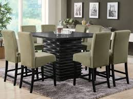dining room round tables for 8 white table