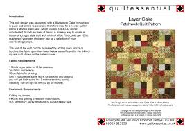 Buy Patchwork Quilt Patterns designed exclusively for ... & Layer Cake patchwork quilt pattern Adamdwight.com