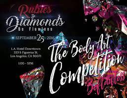 rubies diamonds be flawless 2016 body art peion