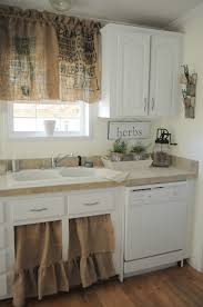 Shabby Chic Kitchen Curtains Small Kitchen Curtains Best Images About Wonderful Window