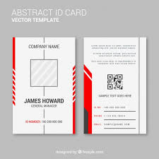 Photo Card Template Id Cards Vectors Photos And Psd Files Free Download
