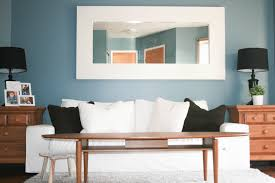 Modern Interior Decor Living Room Design Ideas With Comfortable Delightful  Beatiful White Fabric Love Seat Sofa ...
