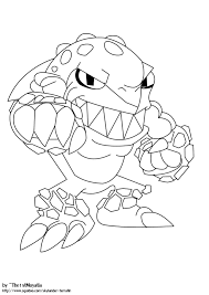 Skylanders Giants Coloring Pages Free Printable