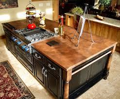 copper countertops for classic style ideas