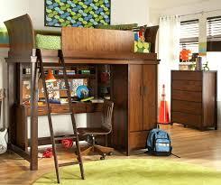 canwood whistler storage loft bed with desk bundle white