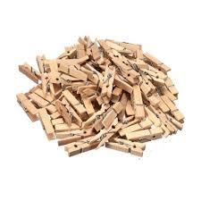 25mm mini wooden craft pegs 50pcs