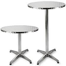 round adjule cocktail table