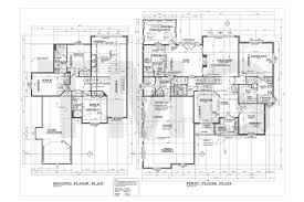 first second floor plan electrical plan house plans drafting