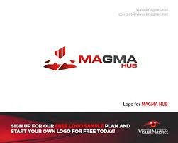 Free Company Logo Design Samples Logo For Magma Design By Visual Magnet Logodesign Magma